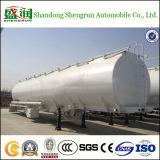 Трейлер топливозаправщика Tri-Axle аттестации ISO для трактора/газолина сырой нефти топливного бака трейлера Semi