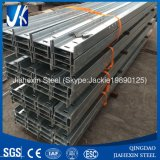 Viga de acero ranurada estructural galvanizada S355jr 200ub