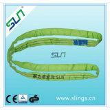 2t*5m endloses Polyester-rundes Riemen-Sicherheitsfaktor-6:1