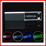 Lecteur flash USB imperméable à l'eau de cristal d'USB Pendrive