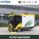 Multi машина чистки дороги мусорной корзины вакуума 240L кабины функции