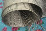 maille de fil de l'acier inoxydable 1.6mmx2inches (câble)