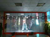 Transparenter LED Video-Bildschirm des transparenten LED-Bildschirmanzeige-Glaswand-Fenster-