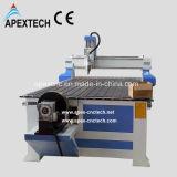 CNC 4 осей гравируя роторный деревянный маршрутизатор