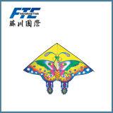 De kleurrijke Goedkope Vlieger van de Plaid van de Vlinder voor Openlucht