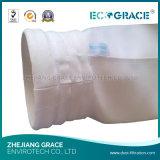Sacchetto filtro acrilico di filtro dell'aria di processo di produzione del cemento