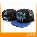 Le chapeau de Snapback de broderie augmenté par bord plat, conçoivent votre chapeau de Snapback