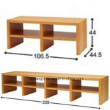 Parlor Furniture Wooden Material Simple TV Cabinet