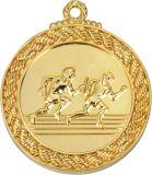 Medaglia del vincitore del randello di gioco del calcio