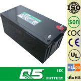 12V200AH, может подгонять 120AH, 150AH, 185AH, 210AH; Батарея силы хранения; UPS; CPS; EPS; ECO; Батарея AGM Глубок-Цикла; Батарея VRLA; Загерметизированная свинцовокислотная батарея;
