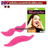 Moustache de barbe de jouet d'article truqué d'usager de moustache de postes d'usager (H8040)