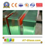 vetro Tempered libero elaborante profondo/vetro temperato di 3-19mm con il bordo Polished usato per costruzione, mobilia