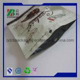 La bolsa de plástico impresa aduana con la cremallera