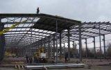 Edificio de acero prefabricado de estilo moderno y compacto