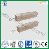 Ánodos sacrificatorios de la aleación de aluminio de la pureza elevada