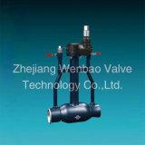 Fornitore in pieno saldato di Wenzhou montato perno di articolazione della valvola a sfera della st 37 della fabbrica della Cina