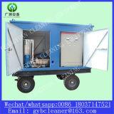 Nettoyeur de pression de sableuse de jet d'eau de nettoyage de tube de chaudière