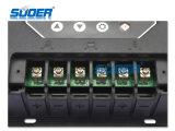 Controlador esperto solar solar solar do controlador PWM da potência do controlador 12V 60A de Suoer com alta qualidade (ST-W1260)