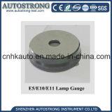 Calibradores del casquillo de la lámpara E5/E10/E11 del calibrador de prueba