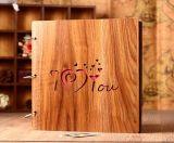 حارّ عمليّة بيع [هيغقوليتي] [وتر-برووفينغ] خشبيّة تغطية سلك التصاق طفلة ألبوم, عرس ألبوم