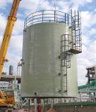 El tanque de FRP para el agua potable venteada en sitio