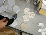 L'arte copre di tegoli le mattonelle creative della pietra delle mattonelle del marmo di esagono delle mattonelle del reticolo di DIY