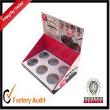Rectángulo de papel acanalado blanco de la alta calidad de encargo al por mayor, caja de presentación, rectángulo del cartón, rectángulo de regalo, rectángulo de empaquetado (LP019)