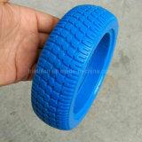 6X2 6X1 6X1.5 휠체어 단단한 고무 폴리우레탄 거품은 타이어 & 바퀴를 피로하게 한다