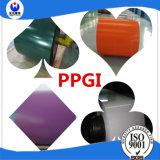코일에 있는 PPGI 색깔에 의하여 입히는 Prepainted 강철판