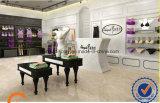 El estante de exhibición de la ropa interior Forladies Shop. Tienda de decoración interior