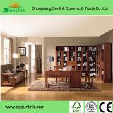 Мебели кухни твердой древесины грецкого ореха с Countertop Kc-073 гранита