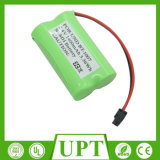 コードレスフォンのための2.4V NIMHの充電電池1400mAh NiMH電池