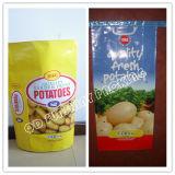ポテトのパッキングBags/PP混合のクラフト紙袋