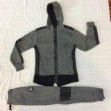 Одежды Tracksuits мальчика кожи контраста ватки в одеянии Sq-6449 малышей