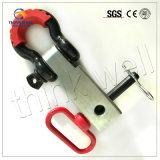 """Parentesi solida dell'anello di trazione della ricevente del legamento dell'anello a """"D"""" di alta qualità"""