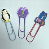 Qualität PVC Promotional 3D Plastic Cartoon Bookmark (BMS-035)