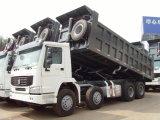 제품 HOWO 8X4 Zz3317n4867A 덤프 트럭 팁 주는 사람