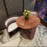 Tavolino da salotto di legno di rotolamento