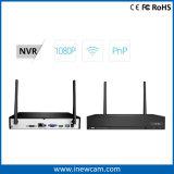 1080P 4CHの無線セキュリティシステムIPのカメラのWiFi NVRキット