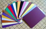 Carte de papier vierge en couleur / carte de voeux / carte de voeux de bricolage