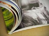 Novela de la impresión del libro de servicio de impresión del compartimiento del libro de la fuente