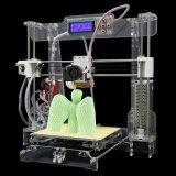 Stampatrice trasparente di Fdm DIY 3D di alta precisione delle stampanti 3D di Anet A8