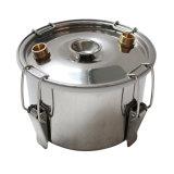 Kingsunshine 30L/8gal Edelstahl-Spiritus-DestillierapparatMoonshine steuern noch Installationssatz automatisch an