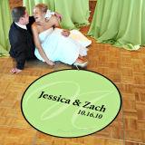 주문 현대 어떤 모양 결혼식 피로연 댄스 플로워 전사술 스티커