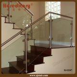 SUS Edelstahl-Glasbalustrade für Treppenhaus/Glasgeländer (SJ-S347)