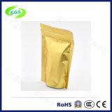 De gouden Zak van de Folie van het Aluminium van de Ritssluiting van pvc van de Ritssluiting Duidelijke Poly