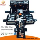 Paquete de la batería de litio de la batería 20ah 30ah 40ah 50ah 60ah 80ah 100ah de la batería 12V 24V 36V 48V 60V 72V 96V 110V 120V 144V LiFePO4 de Lipo