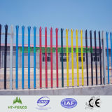 熱いDipped GalvanizedおよびPVC Coated Palisade Fencing