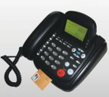 De bovenkantPSTN Telephone POS Terminal Machine van de lijst