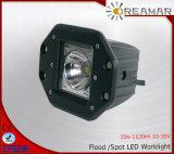 15W luces del trabajo del CREE 1120lm Pi68 LED para el carro 4X4 campo a través
